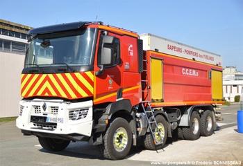 #10295 - Camion-citerne de grande capacité Jacinto/MVR, châssis Renault K 440, sapeurs-pompiers, Magnanville, Yvelines (78)