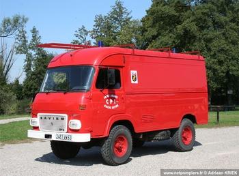 Véhicule pour interventions diverses, Sapeurs-pompiers, Puy-de-Dôme (63)