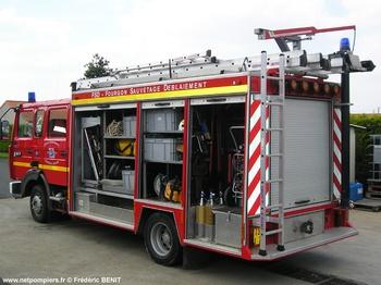 Véhicule de sauvetage déblaiement, Sapeurs-pompiers, Deux-Sèvres