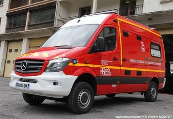 Véhicule de secours et d'assistance aux victimes, Sapeurs-pompiers, Haute-Savoie (74)