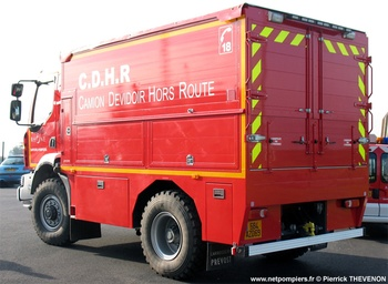 Dévidoir automobile, Sapeurs-pompiers, Rhône (69)