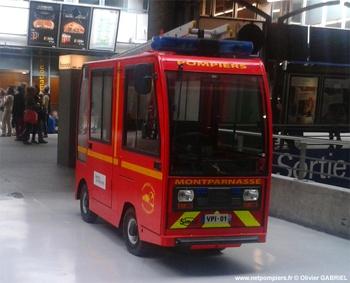 Véhicule de première intervention, Service de sécurité incendie, Paris (75)