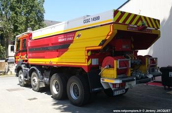 Camion-citerne de grande capacité, Formations militaires de la Sécurité civile, Eure-et-Loir (28)