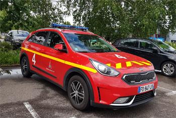 Véhicule de commandement et de liaison, Service de sauvetage et de lutte contre l'incendie des aéronefs, Seine-Saint-Denis (93)
