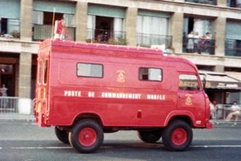 Véhicule poste de commandement, Marins-pompiers de Marseille,  ()