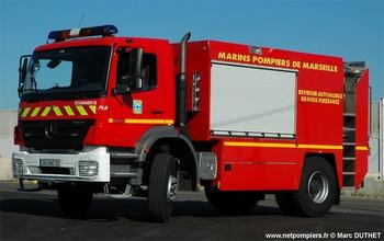 Fourgon-pompe dévidoir de grande puissance, Marins-pompiers de Marseille, Bouches-du-Rhône (13)