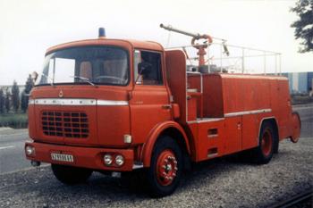 Véhicule mousse, Service de sécurité incendie, Rhône (69)
