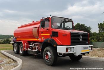 Camion-citerne de grande capacité, Sapeurs-pompiers, Alpes-de-Haute-Provence (04)