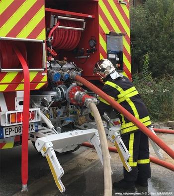 Camion-citerne rural, Sapeurs-pompiers, Ardennes (08)