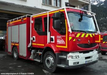 Fourgon-pompe tonne, Sapeurs-pompiers, Haute-Savoie (74)