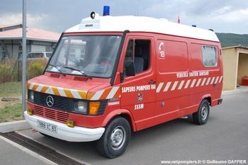 Véhicule de soutien sanitaire, Sapeurs-pompiers, Var
