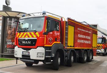 Véhicule mousse, Sapeurs-pompiers, Haute-Garonne (31)
