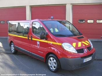 Véhicule de transport de personnel, Sapeurs-pompiers, Manche (50)