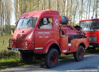 Camion-citerne pour feux de forêts, Sapeurs-pompiers, Seine-et-Marne (77)