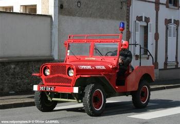 Véhicule de liaison, Sapeurs-pompiers, Loir-et-Cher (41)