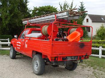 <h2>Camion-citerne pour feux de forêts léger - Huisseau-sur-Cosson - Loir-et-Cher (41)</h2>