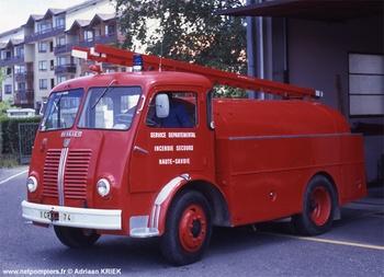 <h2>Camion-citerne d'incendie - Thonon - Haute-Savoie (74)</h2>