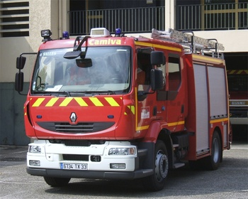 <h2>Fourgon-pompe tonne secours routier - Salles - Gironde (33)</h2>
