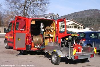Véhicule pour interventions diverses, Sapeurs-pompiers, Vosges (88)