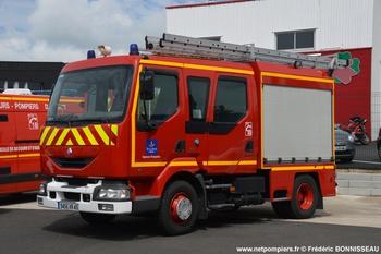 Fourgon-pompe tonne léger, Sapeurs-pompiers, Loiret