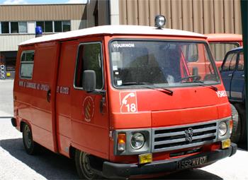 Véhicule de secours et d'assistance aux victimes, Sapeurs-pompiers, Ardèche (07)