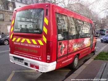 Véhicule de transport de personnel, Sapeurs-pompiers de Paris,  ()