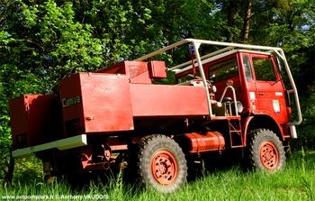 Camion-citerne pour feux de forêts, Sapeurs-pompiers, Meuse (55)