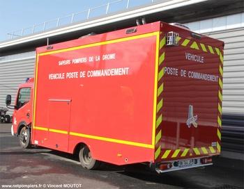Véhicule poste de commandement, Sapeurs-pompiers, Drôme (26)