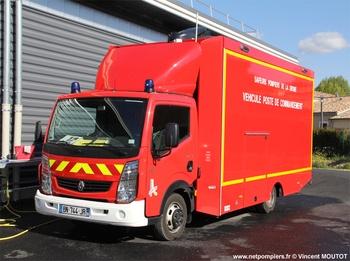 <h2>Véhicule poste de commandement - Étoile-sur-Rhône - Drôme (26)</h2>