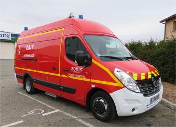 Véhicule d'assistance technique, Sapeurs-pompiers, Rhône (69)