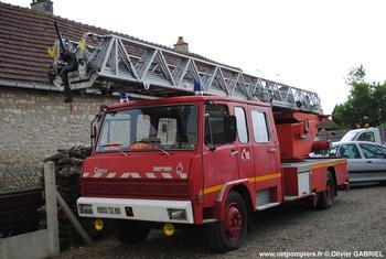 Echelle pivotante, Sapeurs-pompiers, Somme