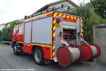 <h2>Fourgon-pompe tonne - Eaubonne - Val-d'Oise (95)</h2>