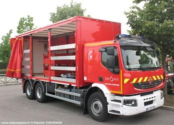Véhicule pour interventions diverses, Sapeurs-pompiers, Rhône (69)