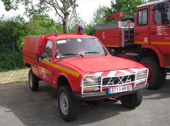 Véhicule de liaison, Sapeurs-pompiers, Tarn-et-Garonne (82)