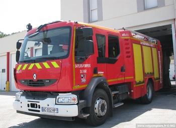 Fourgon-pompe tonne, Sapeurs-pompiers, Var (83)