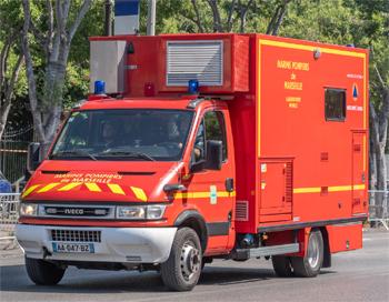 Véhicule de détection, d'identification et de prélèvement, Marins-pompiers de Marseille,  ()