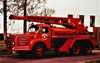 Camion-grue, Sapeurs-pompiers, Yvelines