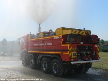 <h2>Camion-citerne de grande capacité - Les Abrets - Isère (38)</h2>