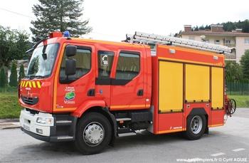 <h2>Fourgon-pompe tonne - Remiremont - Vosges (88)</h2>