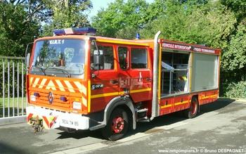 Véhicule pour interventions à risques technologiques, Sapeurs-pompiers, Vendée (85)