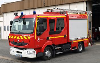 Fourgon-pompe tonne léger, Sapeurs-pompiers, Loir-et-Cher