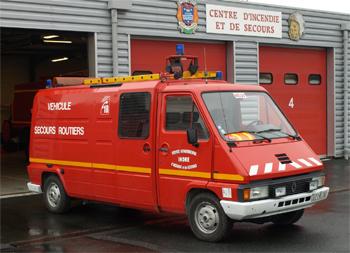 Véhicule de secours routier, Sapeurs-pompiers, Indre