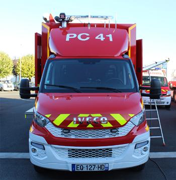 Véhicule poste de commandement, Sapeurs-pompiers, Loir-et-Cher (41)