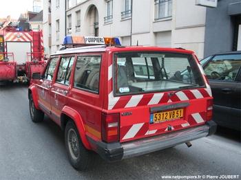 Véhicule de liaison, Sapeurs-pompiers, Marne (51)