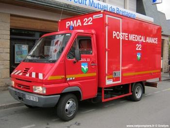 Véhicule poste médical avancé, Sapeurs-pompiers, Côtes-d'Armor (22)