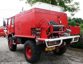 Camion-citerne pour feux de forêts, Sapeurs-pompiers, Seine-Maritime (76)
