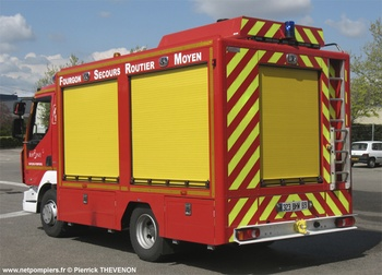 Véhicule de secours routier, Sapeurs-pompiers, Rhône (69)