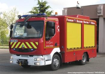 <h2>Véhicule de secours routier - Lyon - Rhône (69)</h2>