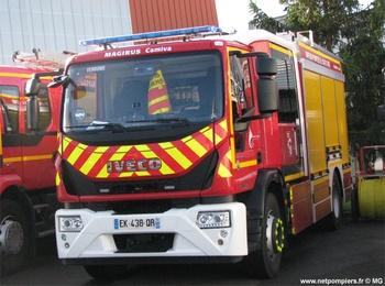 <h2>Fourgon-pompe tonne secours routier - Vendôme - Loir-et-Cher (41)</h2>