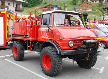 Camion-citerne pour feux de forêts, Sapeurs-pompiers, Haute-Savoie (74)